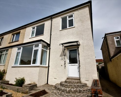 Front 6 bed student house Bristol