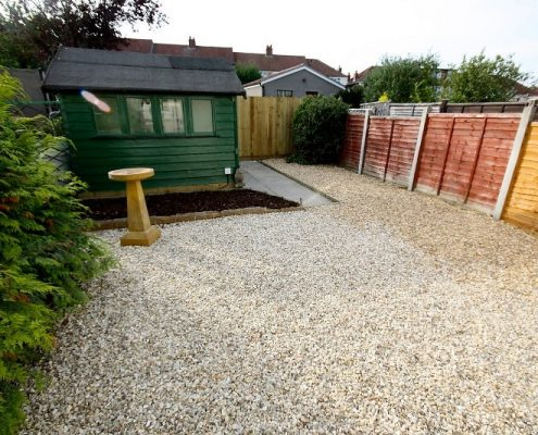 Garden and bike shed 6 bed student house Bristol