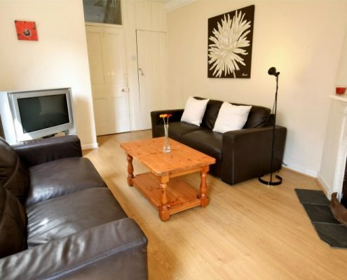 Lounge 5 bed student house Bristol