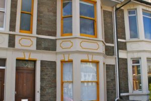 Front 5 bed student house Bristol