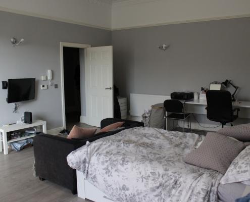 modern studio apartment clifton bristol student lettings. Black Bedroom Furniture Sets. Home Design Ideas